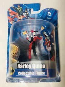 "Harley Quinn 4""Collectible PVC Action Figure DC Comics NIB"