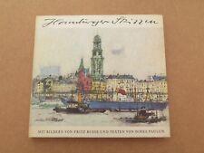Hamburgen skizzen by Fritz Busse (German text, 1968)