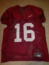 Nike Virginia Tech Hokies #16 Team Issued Football Practice Jersey