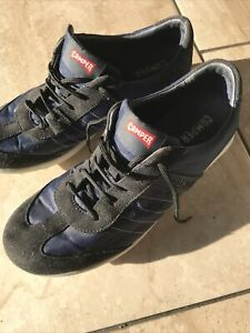 Camper Pelotas Step Trainers Shoes Ladies 39 6 Training Casual Walking Blue