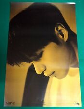Taemin (Shinee) - Move-ing (Repackage) Official Unfolded Poster NEW