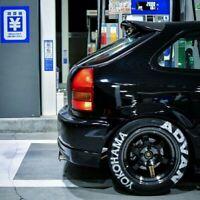 Duck Tail Wing spoiler Spoon style for Honda Civic Type-R Ek9  96-00 Ek Ej