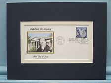 The Federal Reserve is Established &  First Day Cover of its own stamp