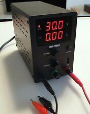 Labornetzgerät0-30V 0-10A  regelbar NetzgerätLabornetzteil Netzteil mit USB.