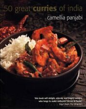50 Great Curries of India by Camellia Panjabi 9781856265461   Brand New