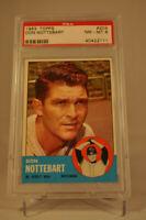 1963 Topps - Don Nottebart - #204 - PSA 8 - NM-MT