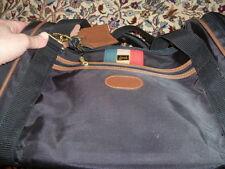 "Authentic Lark Duffle Bag, Very Good Condition 23"" Black, Canvas"