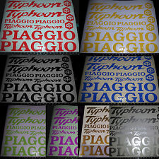 Piaggio Typhoon Decals/Stickers in ALL COLOURS 50 125 172 180 183