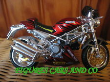 MOTO 1/18 DUCATI  916 S4 MONSTER TUNING  2002  MAISTO