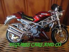 MOTO 1/18 DUCATI  916 S4 MONSTER TUNING  2002  MAISTO