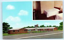 L.A. Motel Groom Texas Route 66 Vintage Postcard D28