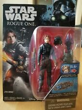 """Jyn Erso (Ground Crew Disguise) - Star Wars Rogue One 3.75"""" Action Figure New"""