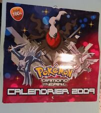 Calendrier 2009 Pokémon Diamond and Pearl