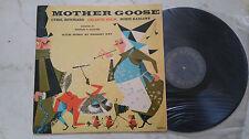 MOTHER GOOSE feat.BORIS KARLOFF (FRANKENSTEIN) 1958 VINYL LP