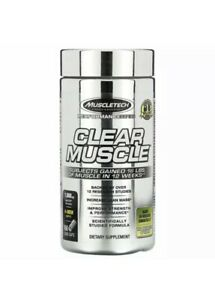 Muscletech Performance Series Clear Muscle 168 Liquid Caps Best By 9/12/20 Marks