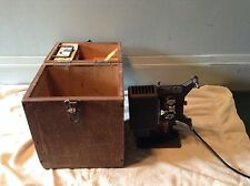 ANTIQUE 8MM KODASCOPE MOVIE PROJECTOR MODEL EIGHT-33 WITH CASE AND REEL WORKS
