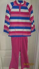 Youth Girls M Children's Place Fleece 6X/7 Pants 7/8 LS Shirt Jacket & Gloves
