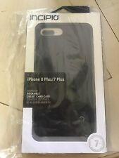 Incipio iPhone 7 8 Plus Case, Stashback Credit Card Wallet Cover Dockable Black