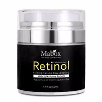 Retinol 2.5%Moisturizer Face Cream Vitamin E Collagen Remove Wrinkle cream
