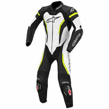 White Motorcycle Riding Suits