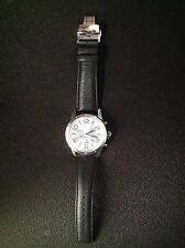 """SILPADA - T3174 - Genuine Leather Stainless Steel """"Truly Classic"""" Watch - RET"""