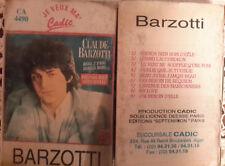 "Claude Barzotti - K7 audio ""prends bien soin d'elle ""made in Algeria"