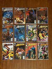 DC Comics Robin Comic Book Collection Lot of 12 All VF+ Or Better Condition