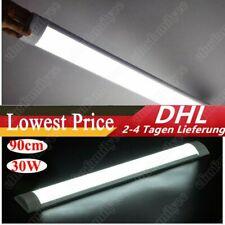 90cm LED Röhren Feuchtraumleuchte Werkstatt Garage Lampe Deckenleuchte Weiß