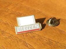 Vintage Citizen Printers Lapel Pin