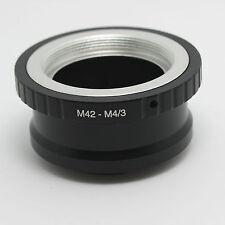 Adapter M42 Objektiv lens to micro 4/3 m4/3 MFT Olympus Panasonic Pen Lumix G N