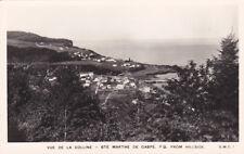 RP: Lighthouse , Vue de la Colline , Ste Marthe de Gaspe , Quebec , Canada , 30-