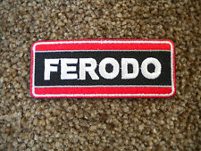 75mm FERODO MOTORING EMBROIDERED PATCH