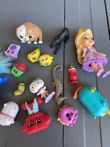 Random Disney, McDonald, Shopkin Toy lot