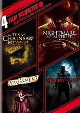 4 Film Favorites Slasher Films Collec DVD Region 1 883929232307