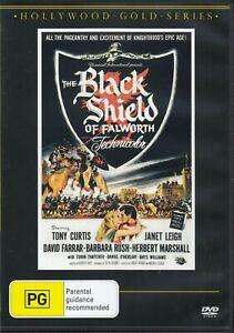 The Black Shield Of Falworth DVD - Tony Curtis - New & Sealed