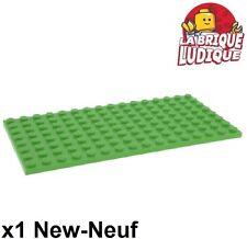 Lego - 1x Plaque Plate 8x16 16x8 vert clair/bright green 92438 NEUF