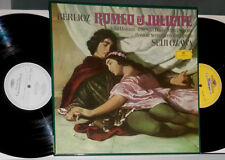 Berlioz Romeo et Juliette Seiji Ozawa 2-lp BOX (lato/SIDE 3 & 4: WHITE Label)