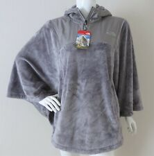THE NORTH FACE Women's Oso Fleece Poncho XS/S S/M L/XL Metallic Silver MSRP $140
