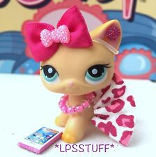 LPS Littlest Pet Shop Custom Clothes Outfit Accessories Lot *CAT NOT INCLUDED*