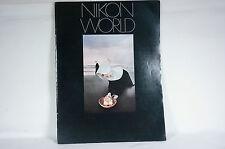 Nikon World Magazine Vol.13 No.1 April 1980 w/Information Articles & Products.