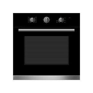 60cm Built In Electric Oven 5 Function - 2100W - Triple Glazed Door - 70L
