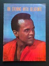 "An Evening with Belafonte Souvenir Program (1957) - 20 Pages - 9"" x 12"" EX+"