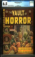Vault of Horror 29 CGC 6.5 Golden Age Pre-Code Horror PCH EH Comic L@@K IGKC
