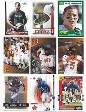 Lot of 20 Oregon State Beavers College Uniform Football Cards; 1991-2014