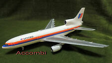 "Gemini 200 UA United Airlines L-1011 Tri-star ""Saul Bass"" 1:200 Time Sale"