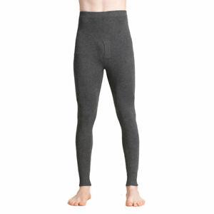 Silk Cashmere Knit Men Thermal Pant Long Johns Bottom