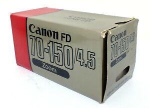 ✮ Canon Zoom Lens FD 70-150mm f/4.5 OVP ***GARANTIE*** // vom Händler!
