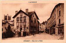 CPA L' Auvergne CUNLHAT Rue de la Poste (409459)