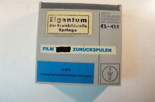 Super 8 Film S8 mm Phagozytose und intrazelluläre Verdauung Biologie 70er 360675