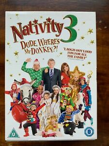 Nativity 3 DVD 2014 Christmas Family Movie Comedy w/ Martin Clunes + Slipcover